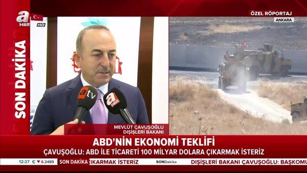 Çavuşoğlu'ndan güvenli bölge açıklaması!
