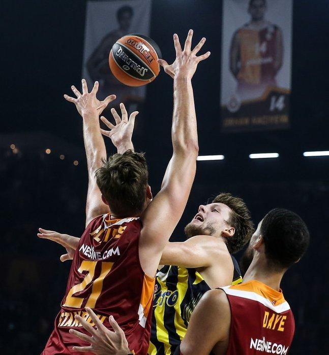 Galatasaray Odeabank - Fenerbahçe maçından kareler