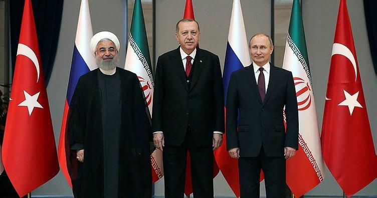 Son dakika... Erdoğan, Putin ve Ruhani Suriye konusunu Tahran'da görüşecek!