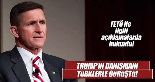 Donald Trump'ın danışmanı Türklerle bir araya geldi