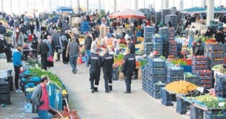 Kırıkkale'de halk pazarları açıldı