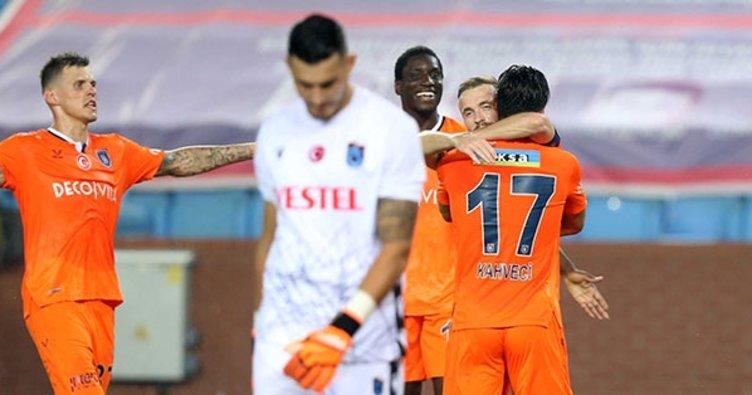Trabzon'da kazanan Başakşehir! Trabzonspor 0-2 Başakşehir