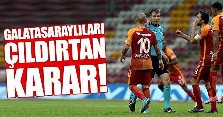 Galatasaray'da Özgür Yankaya tepkisi