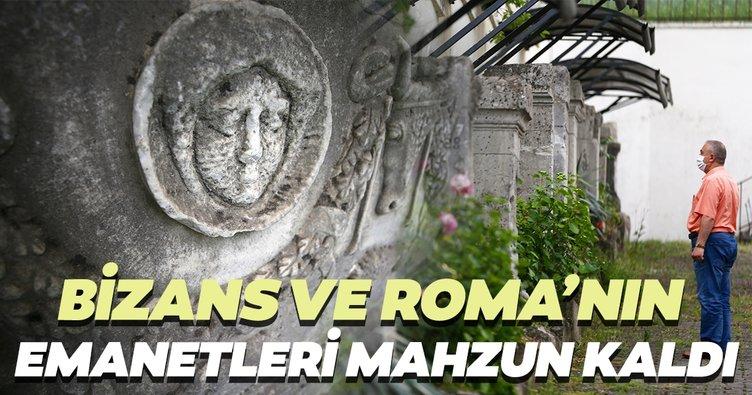 Bizans, Roma ve Konuralp Bey'in emanetleri mahzun kaldı