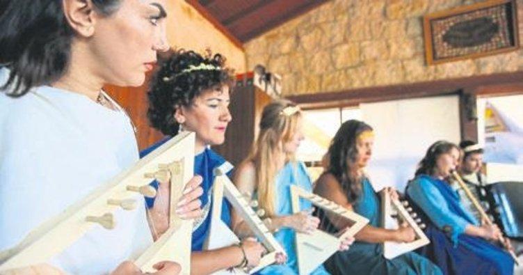 Müzikle terapi kampı