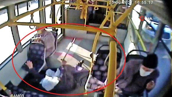SON DAKİKA: İstanbul Beylikdüzü'nde otobüste feci olay! Ani fren sonrası yaşlı kadın savrulup yaralandı