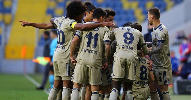 Fenerbahçe gol oldu yağdı! Gençlerbirliği 1-5 Fenerbahçe
