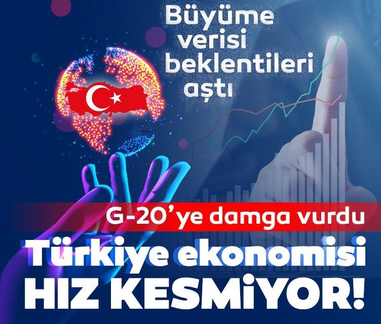 Türkiye ekonomisi güçlü büyümeye devam ediyor!