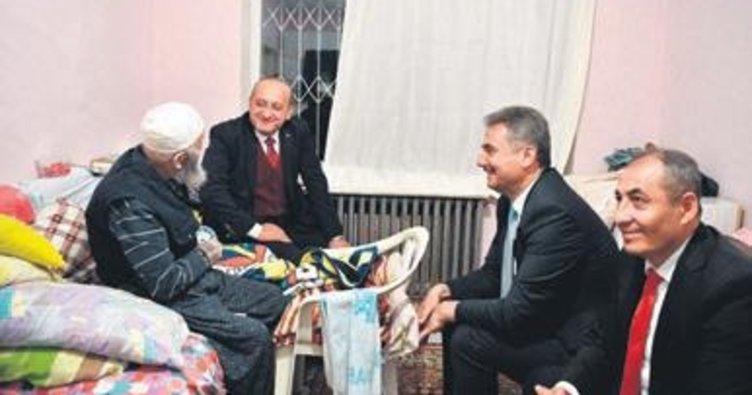 Akdoğan ve Köse ev ziyaretinde