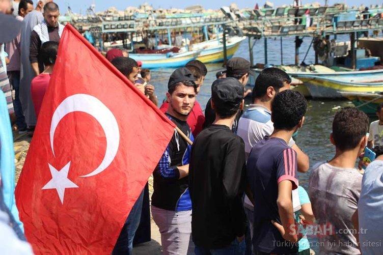 Mavi Marmara anısına denize açılan o filo kuşatıldı!
