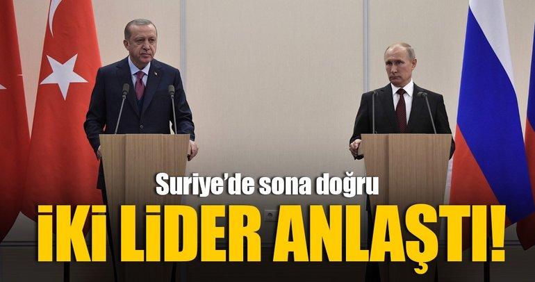 Cumhurbaşkanı Erdoğan ve Putin'den ortak basın toplantısı