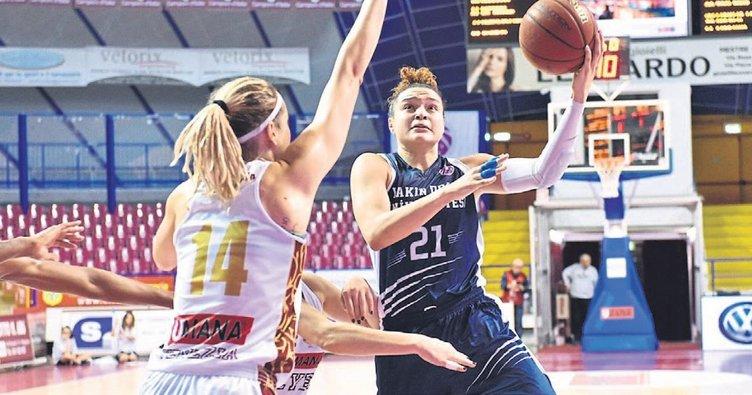 WNBA yıldızı McBride kariyer rekorunu kırdı