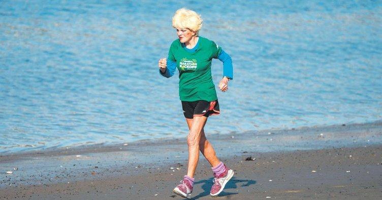 85'lik maratoncu