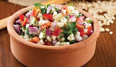 Buğday salatası tarifi...