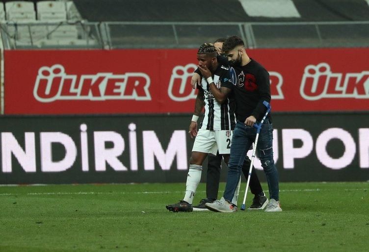 Son dakika: Beşiktaş-Karagümrük maçı sonrası ortalık karıştı! Gözyaşı, kavga ve gözaltı...