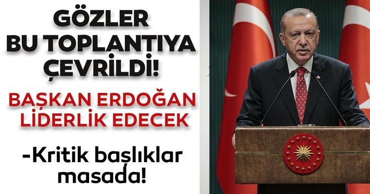 Kabine, Başkan Recep Tayyip Erdoğan'ın liderliğinde toplanacak: Kritik başlıklar masada olacak