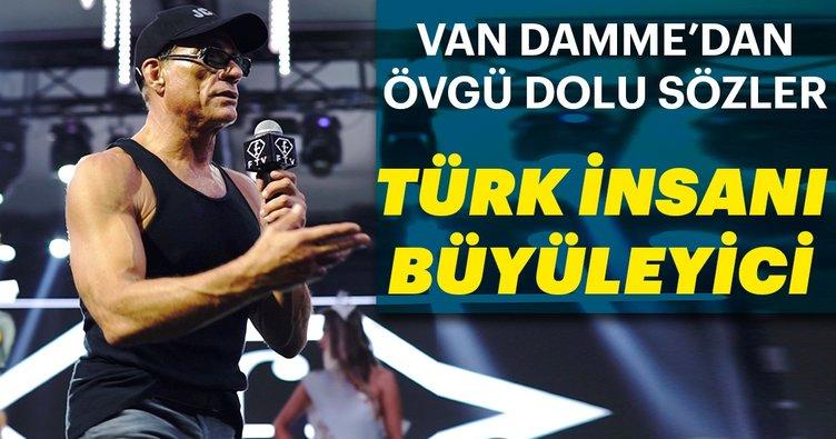 Jean Claude Van Damme: Türk insanı büyüleyici