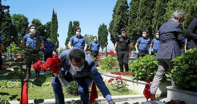 PKK'lı teröristler tarafından saldırıya uğramışlardı! Vezneciler şehitleri anılıyor