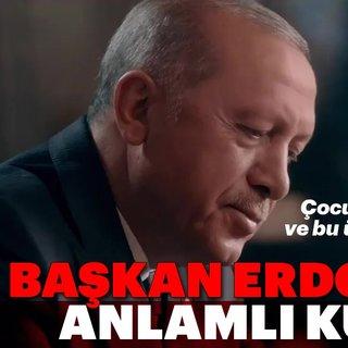 Başkan Erdoğan'dan anlamlı kutlama