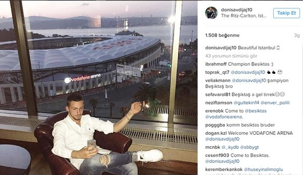 Beşiktaş'tan transfer hamlesi!