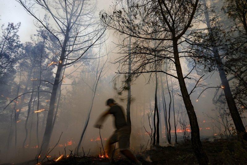 Manavgat yangınında sabotaj şüphesi: Koyu elbiseli iki kişi gördük!