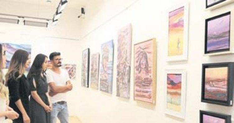 Ressam Orçan'ın sergisine büyük ilgi