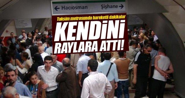 Taksim metro hattında seferler normale döndü