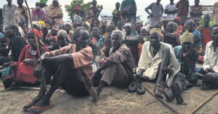 BM: Güney Sudan'da 7 milyon kişi risk altında