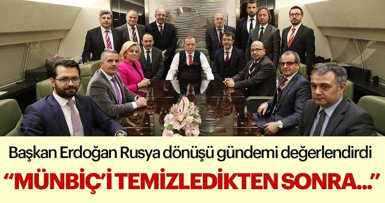 Son dakika... Başkan Erdoğan Rusya dönüşü konuştu: Adana Mutabakatı...