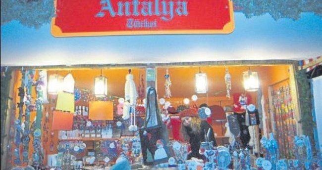 Noel Pazarı'nda Antalya tanıtımı