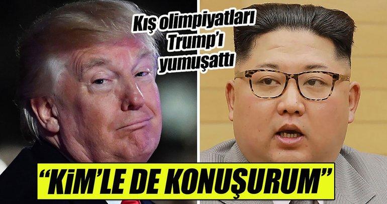 Trump'tan Kuzey Kore lideri Kim'le görüşmeye yeşil ışık yaktı