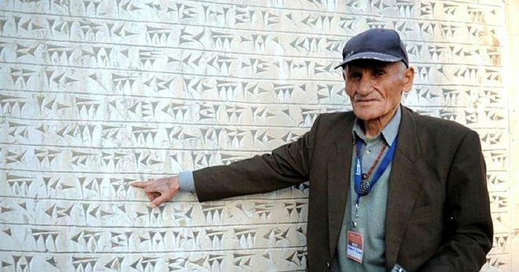 Mehmet Kuşman Dünyada Urartuca yazabilen tek insan
