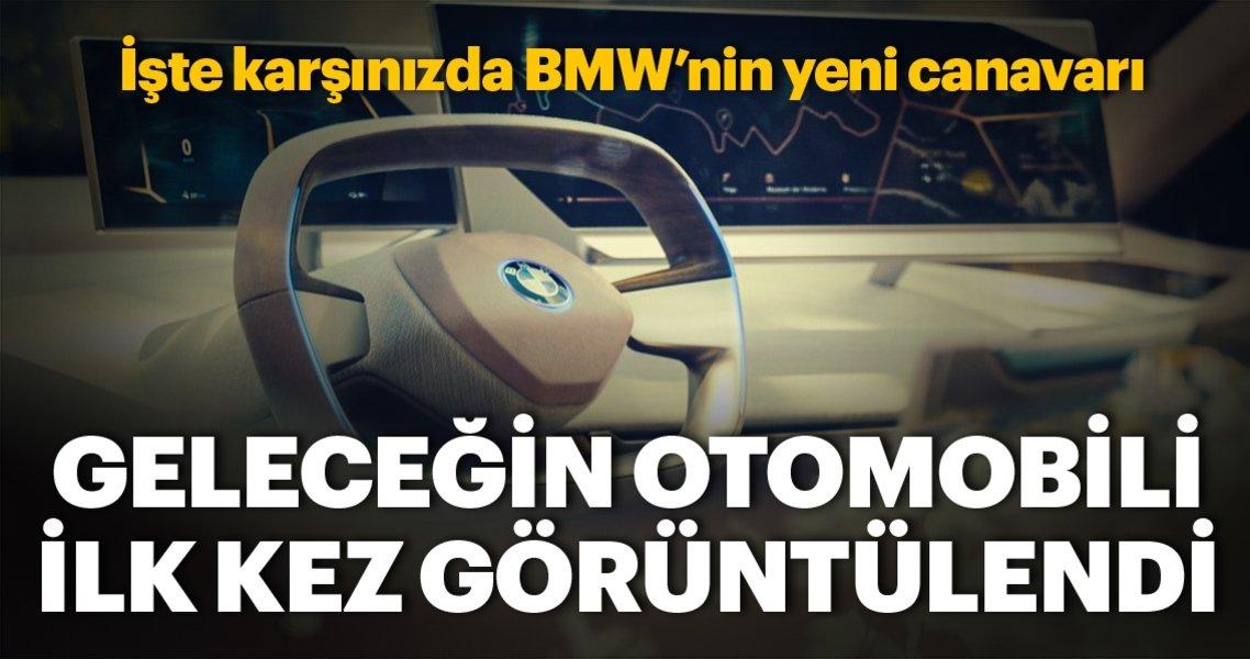 BMW'nin ilk kez görüntülenen geleceğin otomobili konsepti ilk kez dünyanın karşısına çıktı.