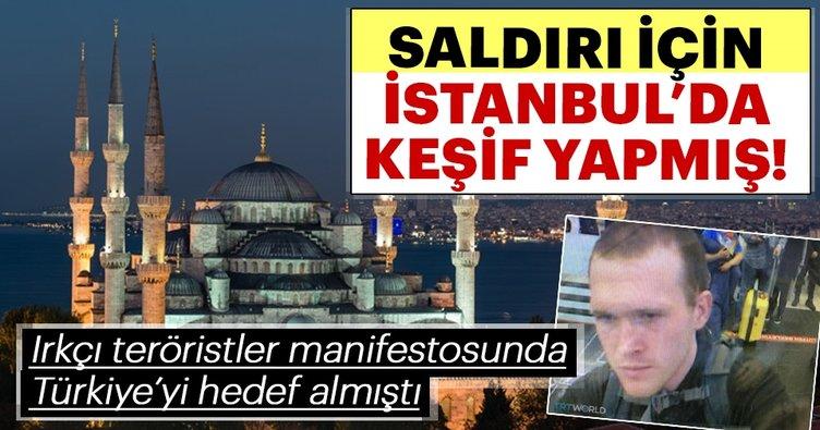 Saldırı için İstanbul'da keşif yapmış!