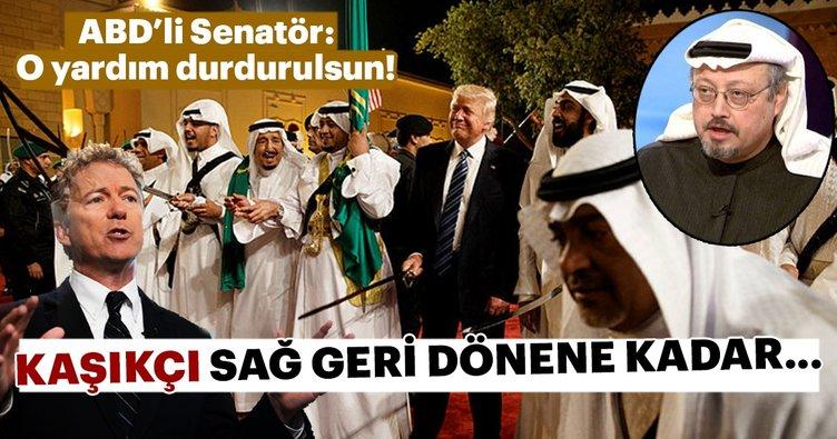 ABD'li Senatör Rand Paul, Suudi Arabistan'a askeri yardımın durdurulmasını istedi