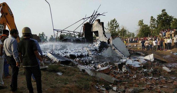 Havai fişek fabrikasında patlama: 23 ölü