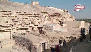 Mısır'da antik roma döneminden kalma lahitler bulundu