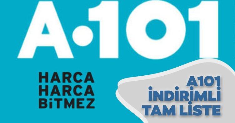 A101 aktüel kataloğunda bu hafta hangi indirimler var? A101 aktüel ürünler kataloğu 30 Temmuz 2020 Perşembe yayınlandı!