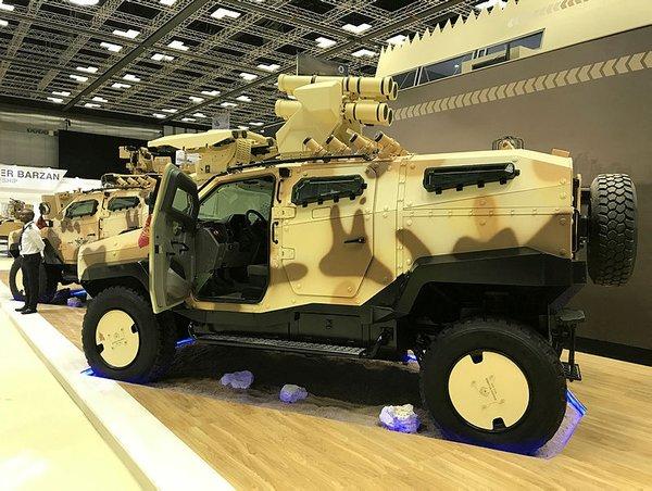 Türkiye'nin yeni zırhlısı 'NMS' görücüye çıktı