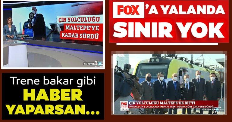 FOX TV, Çin'e giden ihracat trenini Maltepe'de durdurmuştu! O tren Çin Korgos'a ulaştı.