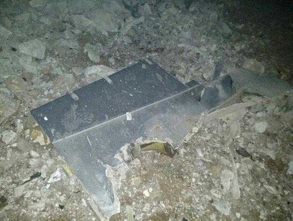 Nevşehir'de askeri uçak düştü. İşte ilk fotoğraflar