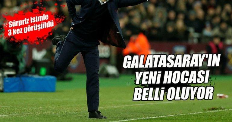 Galatasaray'ın yeni hocası belli oluyor
