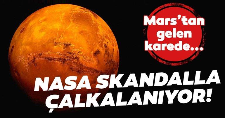 NASA Mars skandalıyla çalkalanıyor! NASA'daki bilim insanları farkında olmadan paylaştı, ortalık karıştı!