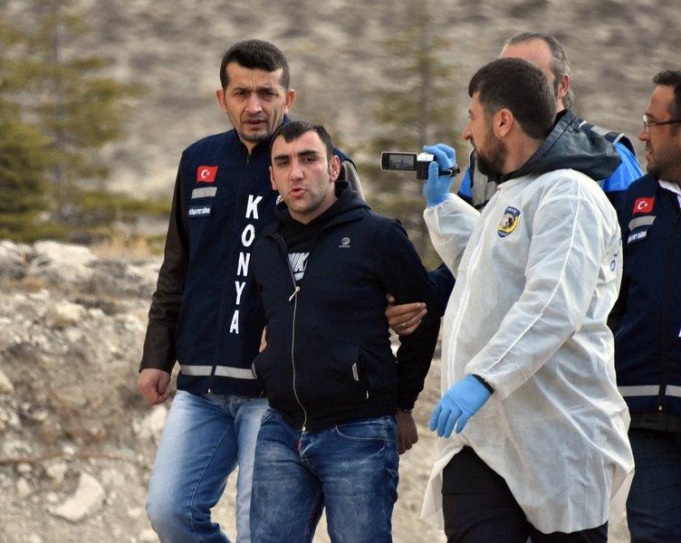 Konya'da tüyler ürperten cinayet!