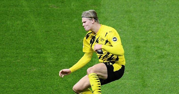 Borussia Dortmund'un Norveçli yıldızı Haaland Messi ve Ronaldo'yu solladı!