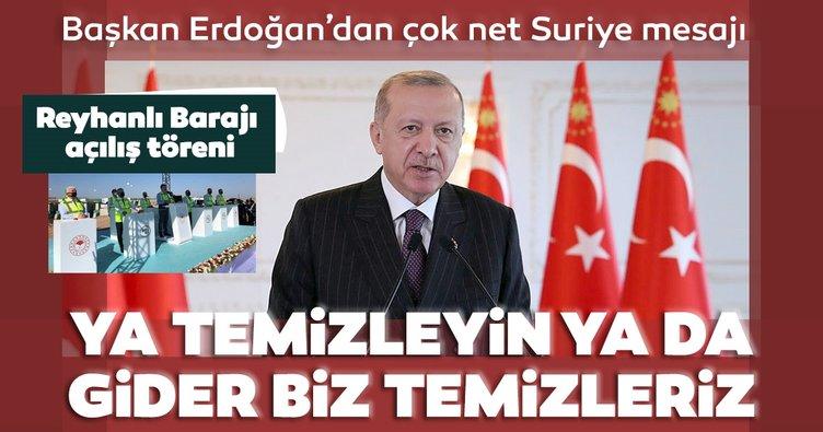 Son dakika: Başkan Erdoğan: Suriye ya bize söz verildiği gibi temizlenir ya da biz temizleriz!