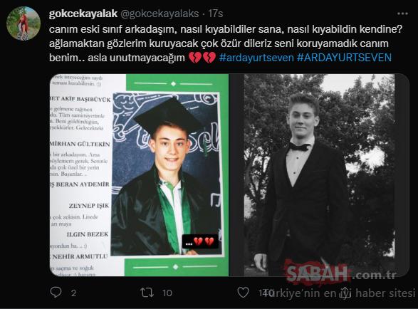 Son dakika: İstanbul'da Arda Yurtseven'ın cansız bedenine ulaşıldı! Arkadaşı Twitter'dan paylaştı: Nasıl kıyabildiler sana