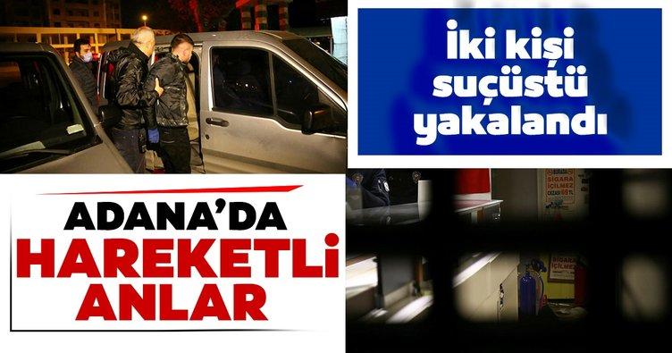 Son dakika: Adana'da hareketli anlar! İki hırsız suçüstü yakalandı