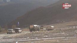 Ermenistan işgalinden kurtarılan Kelbecer'e Azerbaycan bayrağı dikildi   Video