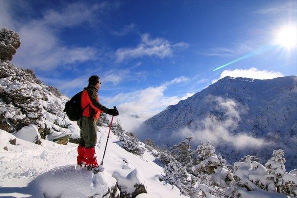 Muhteşem güzellikteki Giden Gelmez Dağları